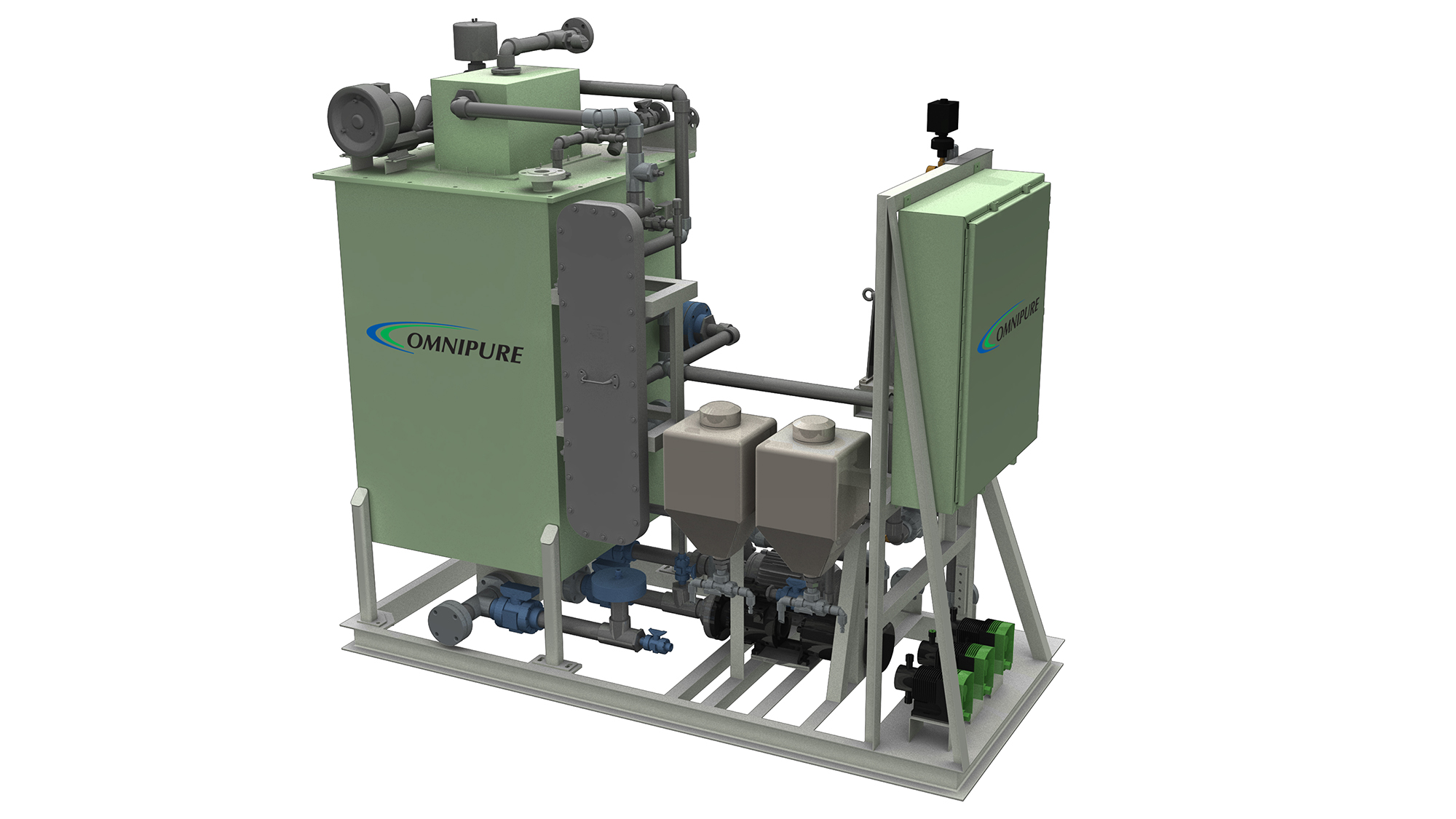 OMNIPURE™ Series 64 Marine Sewage Treatment System